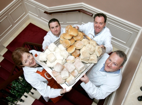 Esther Barron, Barron's Bakery, Cappoquinn; Peter Sutton, Harney's Bakery, Kilmacow; Michael Walsh, M&D Bakery, Waterford City, and Brian Hickey, Hickey's Bakery, Waterford City